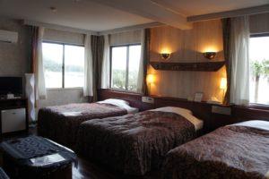 ばしゃ山リゾートホテル スーベリア トリプル