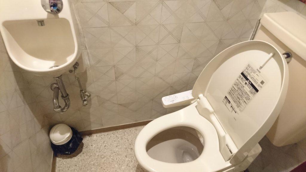 ばしゃ山村 部屋のトイレ